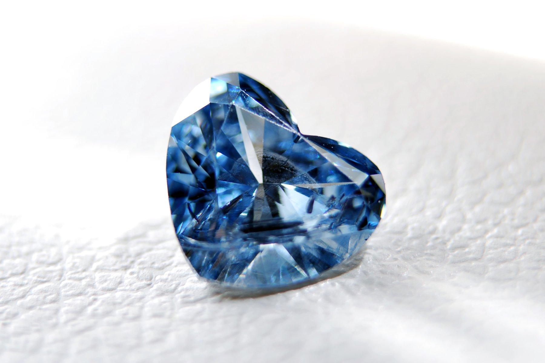 Diamant uit as
